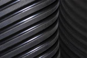 Techninė guma, guminės ir PVC žarnos, kamščiai