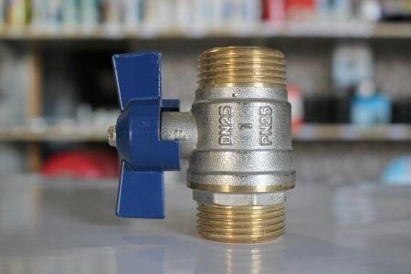 "Rutulinis ventilis i/i, 1/2"" (trumpa rankena)"