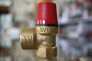 Apsauginis vožtuvas šildymui  Dn15 1,8; 3 bar